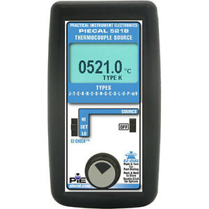 Piecal 14 Thermocouple Type Calibrator
