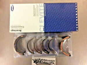 Chevy Small Block 350 383 Mains Clevite Ms909h 10 Race Engine Main Bearing Set