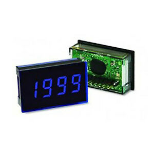 Lascar Sp 300 blue 3 1 2 digit Led Voltmeter W 200 Mv Dc Blue Led