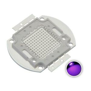 Chanzon High Power Led Chip 100w Purple Ultraviolet uv 395nm 3000ma dc