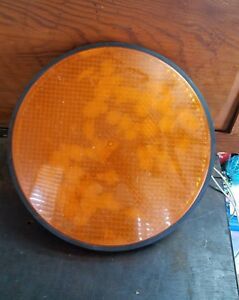Vintage Light Made From Tractor Trailer Truck Signal Lamp Cool