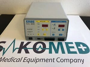 Erbe Icc 200 Electrosurgical Unit tested