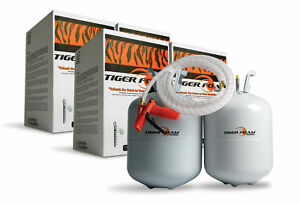 2 Tiger Foam 600bd ft Closed Cell E 84 Spray Foam Insulation Kits Free Shipping