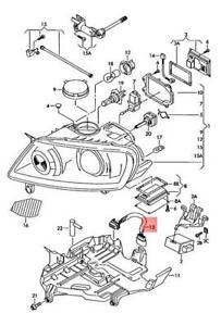 Genuine Vw Touareg Adapter Cable Loom 7l6971071b