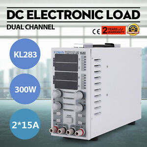 110v Dual Channel Dc Electronic Load Led Driver Cc cv Overcurrent Protection