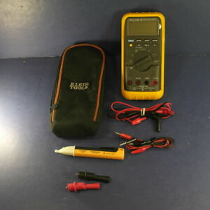 Fluke 87 Trms Multimeter Very Good Condition Screen Protector Case