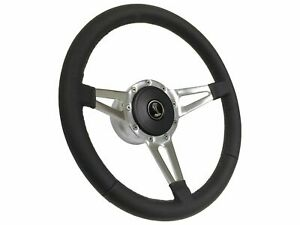 1984 2004 Ford Mustang Cobra S9 Leather Steering Wheel Kit 3 spoke Slots