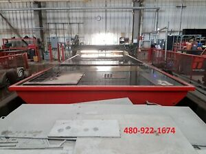 Multicam 6000 Series Cnc Plasma Cutting Table 10x32 Table Size Hpr260xd 2007