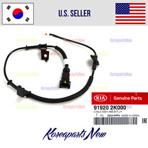 Rear Left Driver Abs Wheel Speed Sensor Cable 919202k000 For Kia Soul 2010 2013