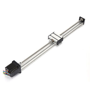 400mm 500mm Block Cnc Linear Rail Guide Slide stepper Motor Cnc Kit Hot