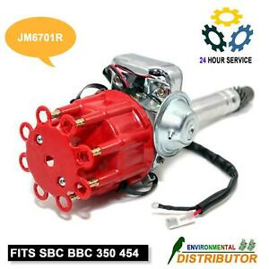 Distributor Ready To Run W Coil For Hei Chevy V8 Sbc Bbc 350 454 Small Big Block
