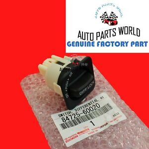Genuine Toyota 93 97 Land Cruiser 96 97 Lx450 Center Differential Lock Switch