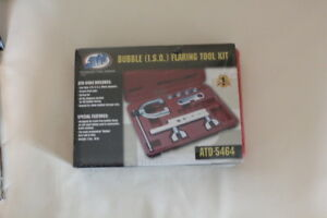 New Atd 5464 Iso Metric Bubble Flaring Tool Kit