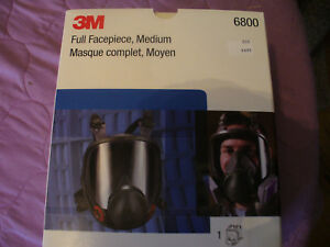 Authentic 3m 6800 Mask New Full Face Respirator Medium Made And Ship From Usa