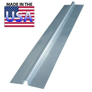 100 4 Ft Snap On Aluminum Heat Transfer Plates For 1 2 Pex Omega Pex Guy