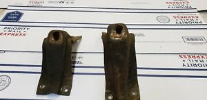 1967 1979 Ford Truck F100 F150 300cid Fe Engine Mount Perches Motor Stands 2wd