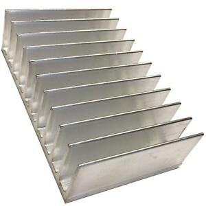 Large Transistor Heat Sink To3 To247 To220 Aluminium 80x124x35mm