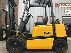 Yale Glp505 5000 Pneumatic Forklift