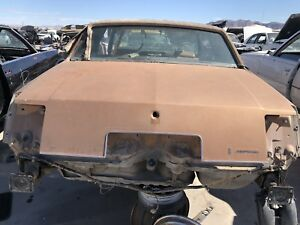 1979 Oldsmobile Cutlass Supreme Trunk Lid