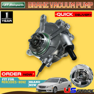 Brake Vacuum Pump For Mercedes Benz C230 C300 Clk280 E280 Glk280 S400 724807410