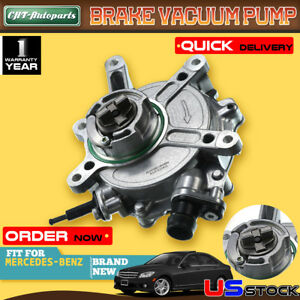 Brake Vacuum Pump For Mercedes Benz W204 W218 C207 W212 C300 2013 14 2762300065