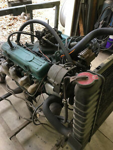 1967 Buick Skylark 300 Engine Transmission On Testing Stand Sold As One Unit