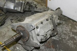 Corvette Impala Borg Warner T10 4 Speed Transmission 1963