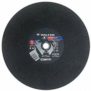 Walter Chopcut Performance Cutoff Wheel Type 1 Round Hole Aluminum Oxide 1
