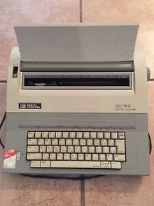 Smith Corona Portable Electric Electronic Typewriter 350 Dle Tester And Working