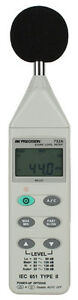 Bk Precision 732a Digital Sound Level Meter With Rs232