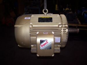 New Baldor 50 Hp Electric Ac Motor 208 230 480 Vac 326t Frame 1775 Rpm 3 Phase