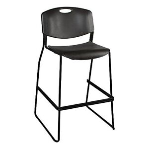 Norwood Commercial Furniture Heavy duty Plastic Bar Stool 31 Seat Height