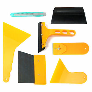 Car Window Tint Tools Kit Scraper Squeegee Auto Film Tinting Installation