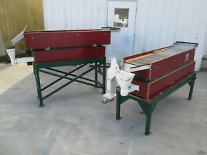 Aec Small Batch Seed Grain Cleaner Grading Table