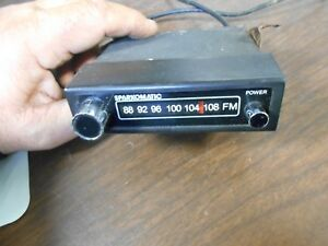 Vintage Sparkomatic Mini Fm Converter Used not Tested