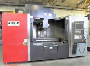 Okk Vm 76r Cnc Vertical Machining Center 29379