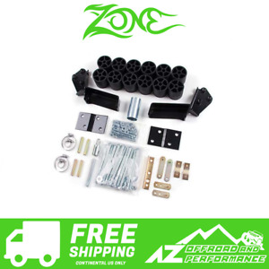 Zone Offroad 3 Body Lift Kit Fits 92 94 Chevy Gmc Suburban Yukon Blazer C9317