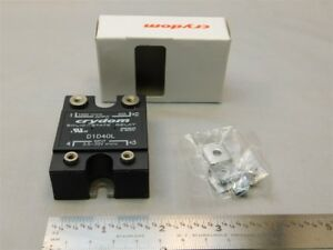 Crydom D1d40l 3 5 32vdc Control 100vdc 40a Output Dc Solid State Relay