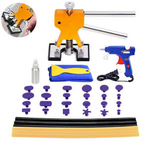Car Auto Body Painless Dent Removal Puller Tools Kit Hail Damage Repair W102305