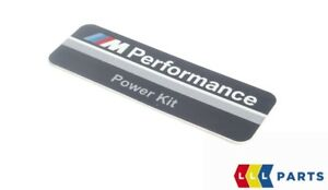 Bmw New Genuine 1 2 3 4 5 X3 X5 M Performance Power Kit Badge Sticker 2296495