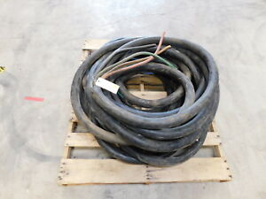 125 3 0 4 wire Type W Portable Copper Power Cable Outdoor 2000v New h8 694