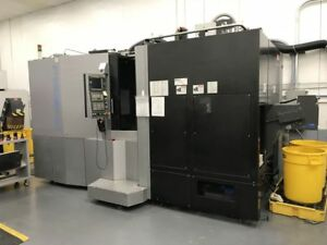 Toyoda Fh500j Horizontal Dual Table Index Cnc Mill W Low Hours