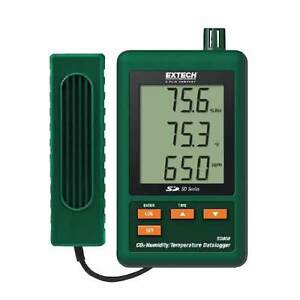 Extech Sd800 Co2 humidity temperature Datalogger With Sd Card