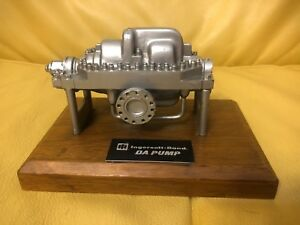 Vintage Ingersoll Rand Da Pump Desktop Model Oil Gas Collectible Petroliana