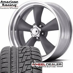 17x7 17x8 American Racing Torq Thrust Wheels Tires For Ford Mustang 1969 1973
