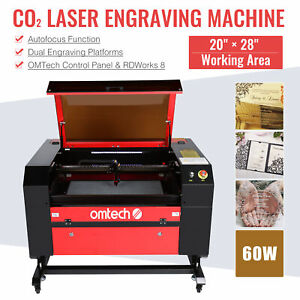 80w Co2 Laser Engraving Cutting Machine Engraver Cutter Usb Port 700x500mm