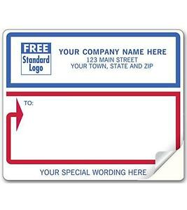 600 Mailing Labels white With Red And Blue Nebs Deluxe 12688 1 Laser inkjet
