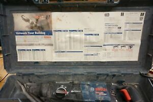 Bosch Bulldog Extreme Max Rotary Hammer Rh228vc With Case Used Free Shipping