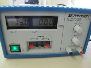 Bk Precision 1670a Dc Power Supply Used Very Good Condition With Manual Fuse
