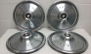 1970 72 Buick Special 14 Hubcaps wheel Covers set Of 4